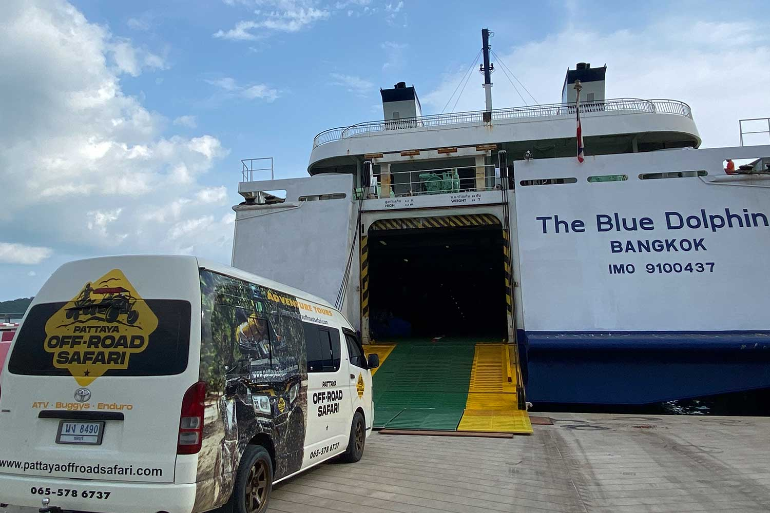 Day 1 - Route 66 HQ to Sattahip (SeaHorse Ferry to Songkhla)